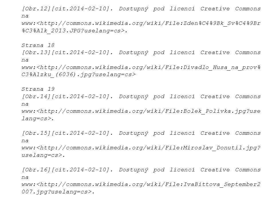 [Obr.12][cit.2014-02-10]. Dostupný pod licencí Creative Commons na www:<http://commons.wikimedia.org/wiki/File:Zden%C4%9Bk_Sv%C4%9Br%C3%A1k_2013.JPG uselang=cs>.